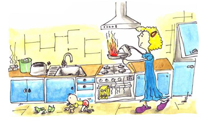 A la cuina...