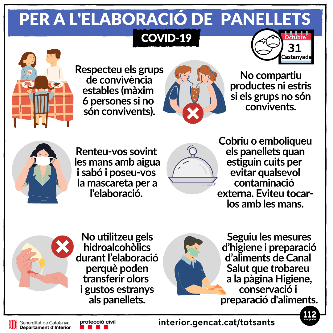 consells panellets